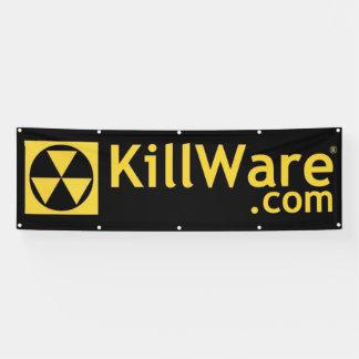 KillWare 8 Foot Banner