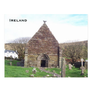 Kilmalkedar Church, Dingle, Kerry, Ireland Postcard
