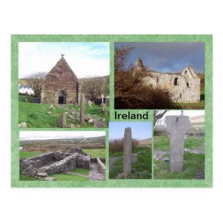 Kilmalkedar Medieval Site, Kerry, Ireland Postcard