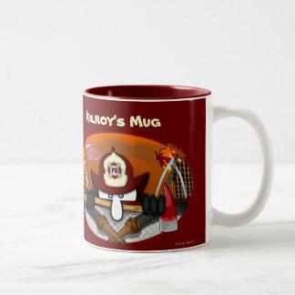 Kilroy's Firefighter Mug