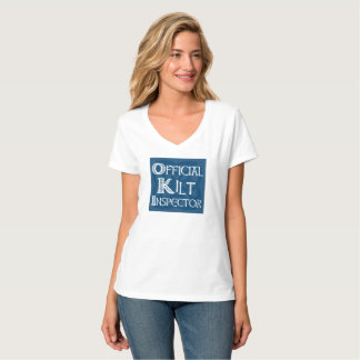Kilt Inspector - Celtic Blue T-Shirt
