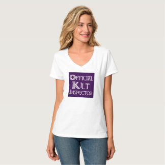 Kilt Inspector - Celtic Purple T-Shirt