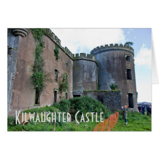 Kilwaughter Castle Greeting Card