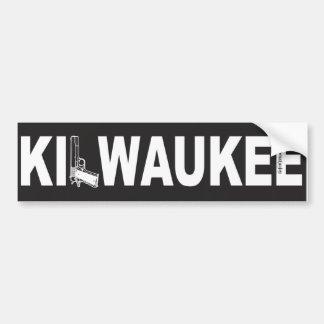 Kilwaukee Elefent Industries Sticker Bumper Sticker