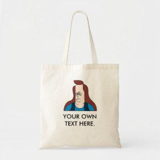 Kim Davis. customizable tote. Budget Tote Bag