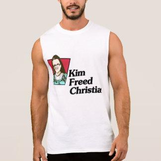 Kim Freed Christian Mens Sleeveless Shirt
