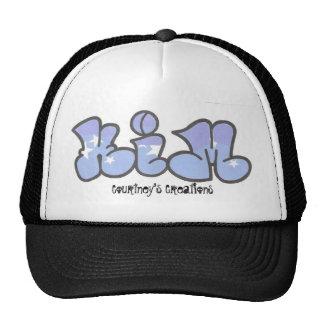 kim graffiti, Courtney's Creations Cap