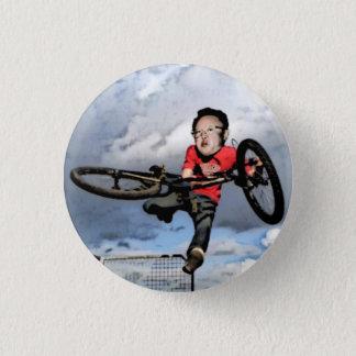 Kim Jong-il BMX - Pin