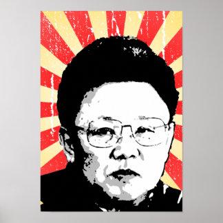 Kim Jong Il Posters