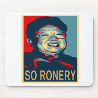 Kim Jong-Il So Ronery Mousepad