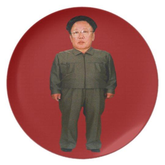 Kim Jong illin' Plate