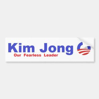Kim Jong O Bumper Sticker