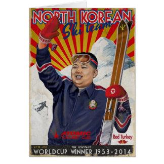 Kim Jong Un Card