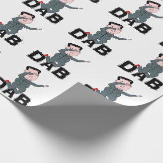 Kim Jong-Un Dabbing Wrapping Paper