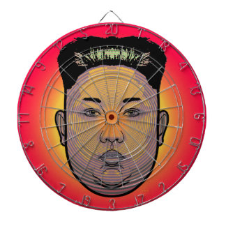 Kim Jong Un Dictator Do Dartboard