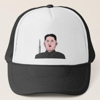 Kim Jong-un & nuclear missile Trucker Hat