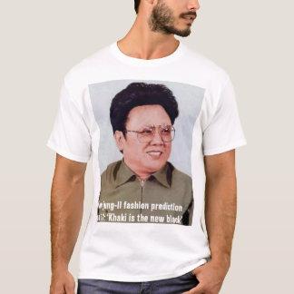 Kim jung-Il fashion prediction No 12: T-Shirt