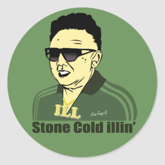 Kim Jung Il Sticker