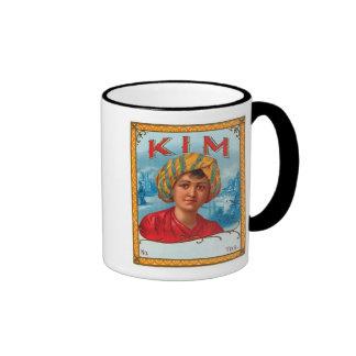 Kim Vintage Label Ringer Mug