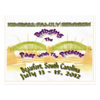 Kimball Family Reunion Postcard