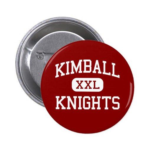 Kimball - Knights - High School - Dallas Texas Button