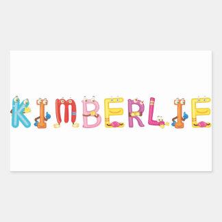 Kimberlie Sticker
