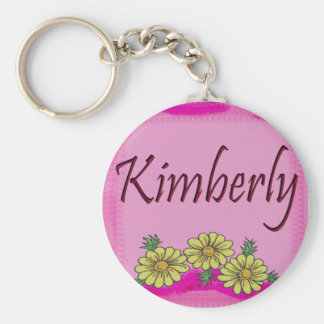 Kimberly Daisy Keychain