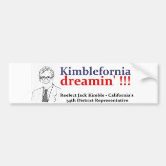 kimblebumper bumper sticker