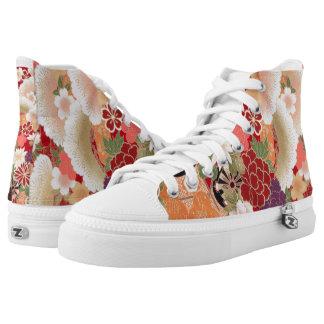 Kimono 1001 printed shoes