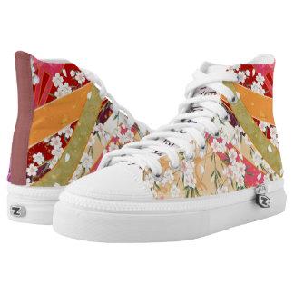 Kimono 2001 printed shoes