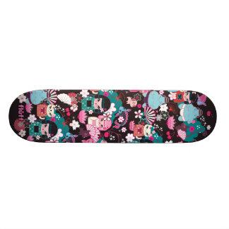 Kimono Cuties Kawaii Skateboard by Fluff