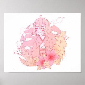 Kimono Demon Poster