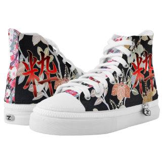 """Kimono Print """"IKI""""-edition Printed Shoes"""