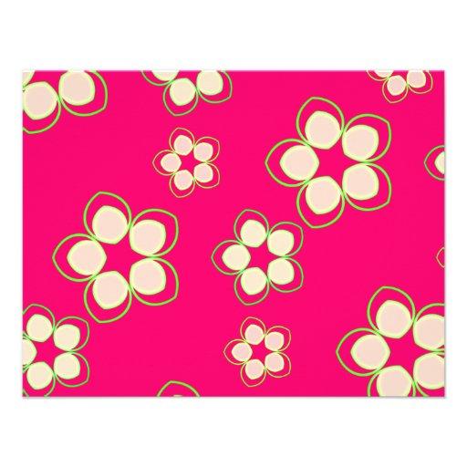 Kimono Rose Pink Lotus Custom Invitations