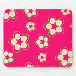 Kimono Rose Pink Lotus Mouse Pad