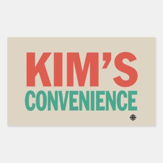 Kim's Convenience Rectangular Sticker