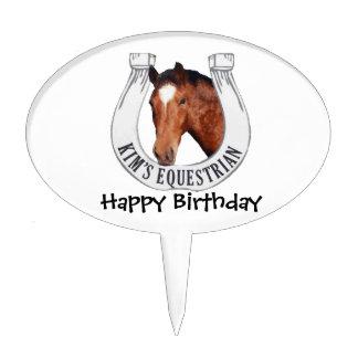 Kim's Equestrian: Galaxy Cake Topper