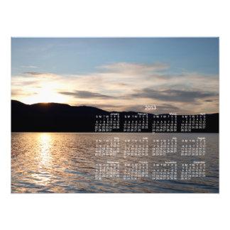 Kinaskan Sunset; 2013 Calendar Art Photo