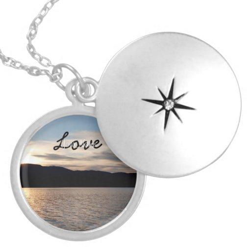 Kinaskan Sunset; Customizable Personalized Necklace