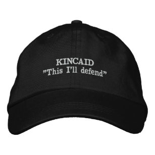 Kincaid Clan Motto Embroidered Hat