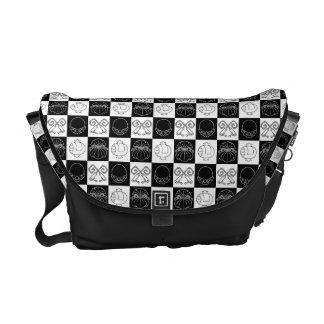 Kinchakukozuchi Japanese Pattern Messenger Bag
