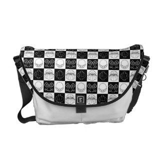 Kinchakukozuchi Japanese Pattern Messenger Bag B