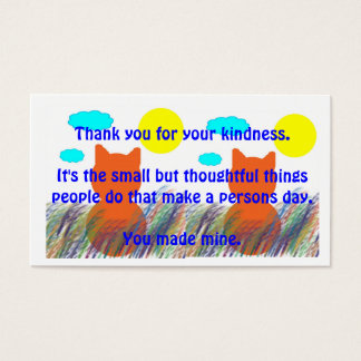 Kind Acts Thank-You