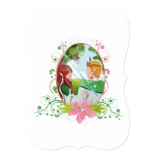 Kind and Queen 5x7 Invitation Bracket