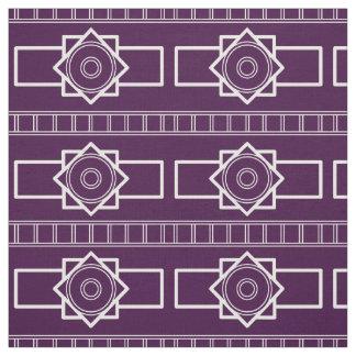 Kind Deco Weis eggplant Fabric