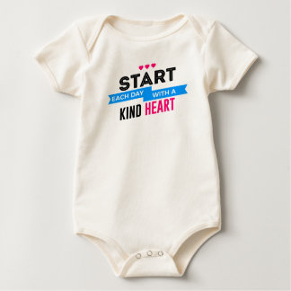 Kind Heart Compassion Humanity Baby Bodysuit