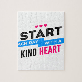 Kind Heart Compassion Humanity Jigsaw Puzzle