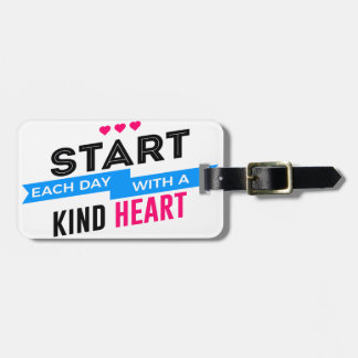 Kind Heart Compassion Humanity Luggage Tag