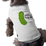 Kind of a Big Deal Dill Pickle Sleeveless Dog Shirt