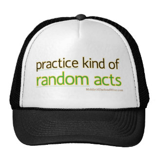Kind of Random Acts Hats